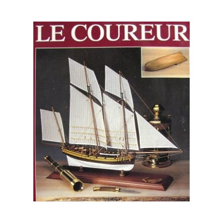Amati 1441 Le Coureur, French Lugger 1776