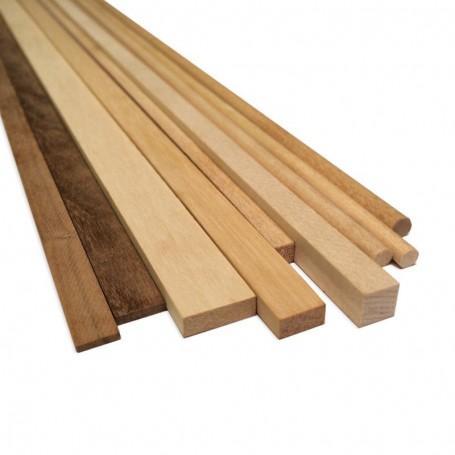 Amati 2460.01 Stripes valnöt, 0,5x4 mm, längd 1000 mm