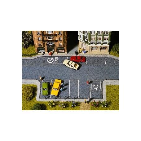 Noch 60550 Parkeringsplats, 20 x 10 cm inkl. 4 st parkeringsmätare