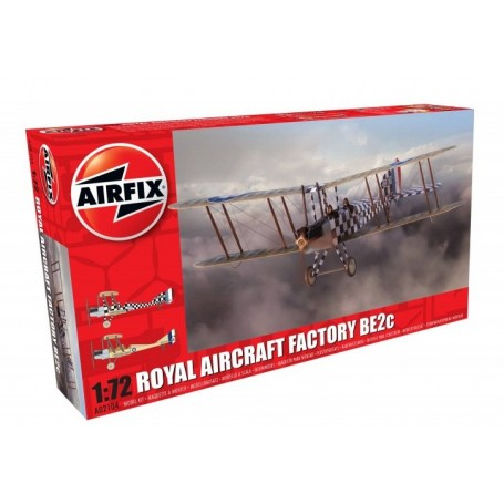 Airfix 02104 Flygplan Royal Aircraft Factory BE2c Scout