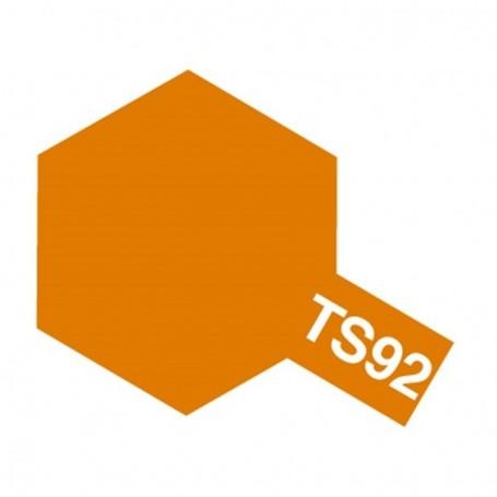 """Tamiya 85092 Sprayfärg TS-92 """"Metallic Orange"""" matt, innehåller 100 ml"""
