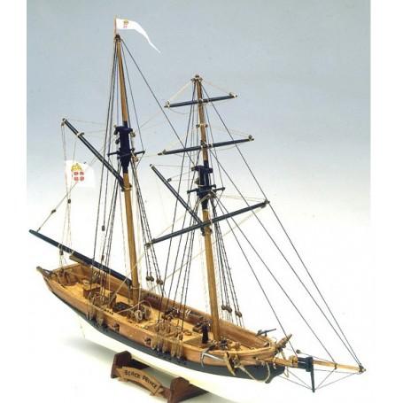 """Mamoli MV46 Privateer schooner """"Black Prince"""" – 1775"""