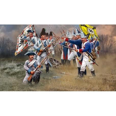 Revell 02452 Figurer Seven Years War Austrian & Prussian Infantry