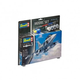 "Revell 63956 Flygplan Saab JAS-39D Gripen TwinSeater ""Gift Set"""