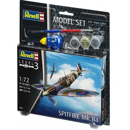 "Revell 63953 Flygplan Spitfire Mk.IIa ""Gift Set"""