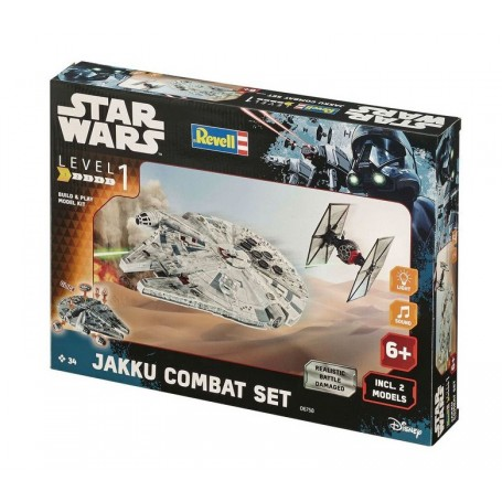 Revell 06758 Build & Play Jakku Combat Set