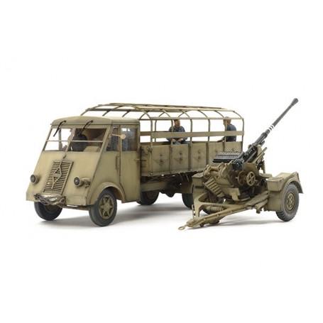 Tamiya 32410 German 3.5ton Truck AHN - w/3.7cm Flak 37 AA Gun
