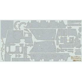Tamiya 12673 Zimmerit Coating Sheet - 1/35 Brummbar Late Production