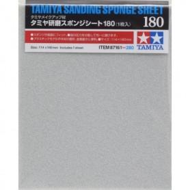Tamiya 87161 Tamiya Sanding Sponge Sheet - 180