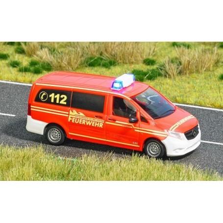 Busch 5594 Mercedes-Benz Vito 'Feuerwehr med belysning
