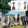Busch 1096 3 Stone Crosses