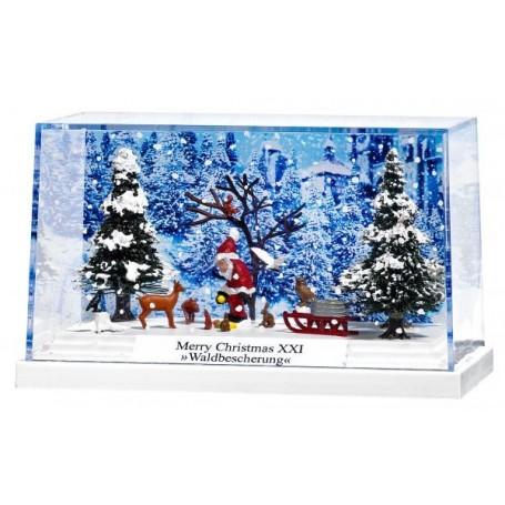 Busch 7651 Litet diorama 'Merry Christmas XXI'. PC-Box