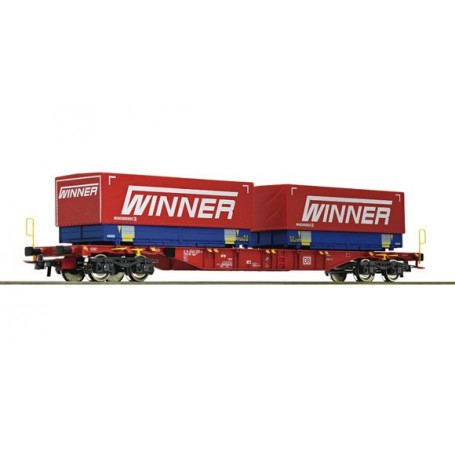 Roco 76621 Containervagn typ DB AG 'Winner'