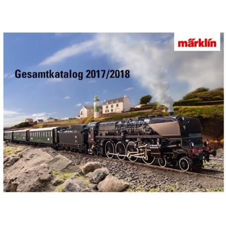 Märklin 15750 Märklin Katalog för 2017|2018 Tyska