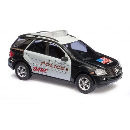 """Busch 49813 Mercedes Benz M-Klass """"D.A.R.E. / Beverly Hills Police"""""""