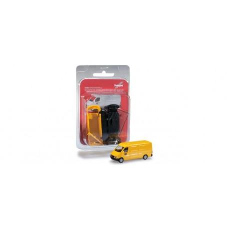 "Herpa 012577 Herpa MiniKit: Mercedes-Benz Sprinter box ""Post"""