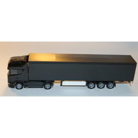 Herpa BM921435 Bil & Trailer Scania R Topline, svart omärkt