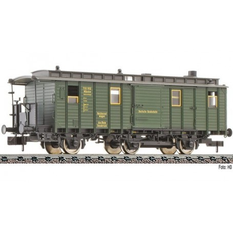 Fleischmann 838202 Personvagn 3-axlig typ Heiz 3i pr 04 DB