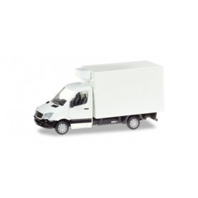 Herpa 013062 Mercedes-Benz Sprinter refrigerated boxtrailer, unprinted