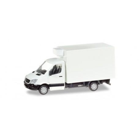Herpa 013062 Mercedes-Benz Sprinter refrigerated boxtrailer, unprinted