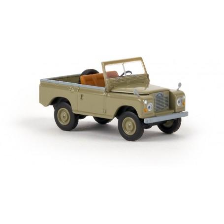 Brekina 13852 Land Rover 88, gulgrå