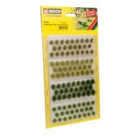 Noch 07127 Grästuvor mörk och ljusgröna, 104 st, 6 mm långa