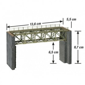 Noch 67038 Steel Bridge for narrow-gauge railways