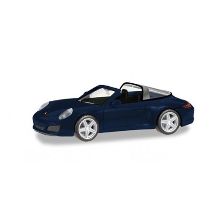Herpa 038867 Porsche 911 Targa 4, night blue metallic