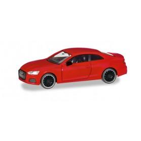 "Herpa 038805 Audi A5 Coupé ""Black Edition"", tango red metallic"