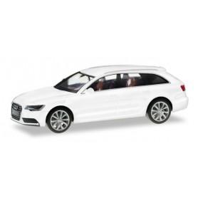 Herpa 034883.4 Audi A6 Avant, glacier white metallic