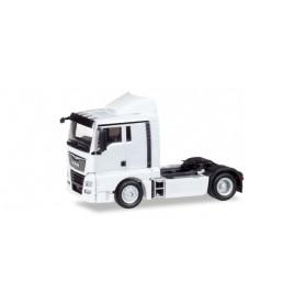 Herpa 308366 MAN TGX XL Euro 6c rigid tractor, white