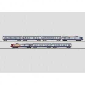 """Märklin 88735 Dieseldrivet motorvagnståg BR 601 """"Blue Star Train"""" (BST)"""