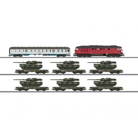 "Märklin 26606 Tågset ""German Federal Army"" typ DB AG"