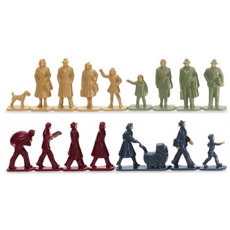 Wiking 01817 Accessory pack - Groups of people