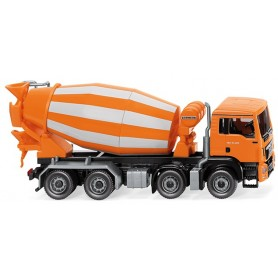 Wiking 68148 Concrete mixer (MAN TGS Euro 6/Liebherr) - orange