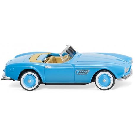 Wiking 82906 BMW 507 convertible - light blue, 1956