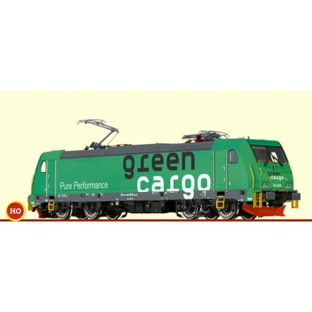 "Brawa 43966 Ellok klass RE 1428 Traxx ""Green Cargo"""