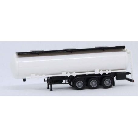 AMW 90634.1 Tanktrailer, 3-axlig, vit omärkt