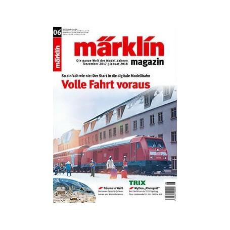 Märklin 286163 Märklin Magazin 6/2017 Engelska