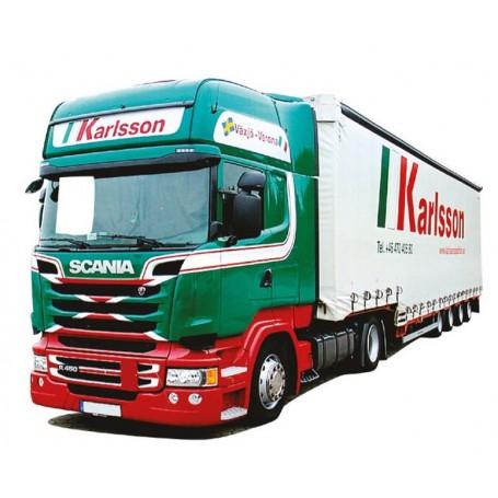 "AMW 8492.86 Bil & Jumbotrailer Scania ""09"" Topline/Aero ""Karlsson"""
