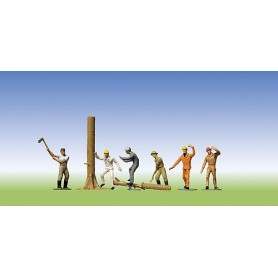 Faller 151041 Skogsarbetare, 6 st
