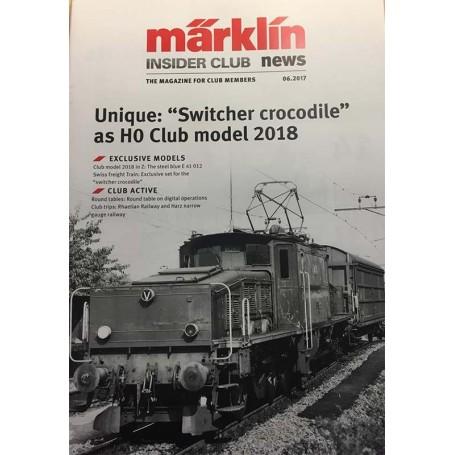 Märklin INS62017 Märklin Insider 06/2017, magasin från Märklin, 22 sidor