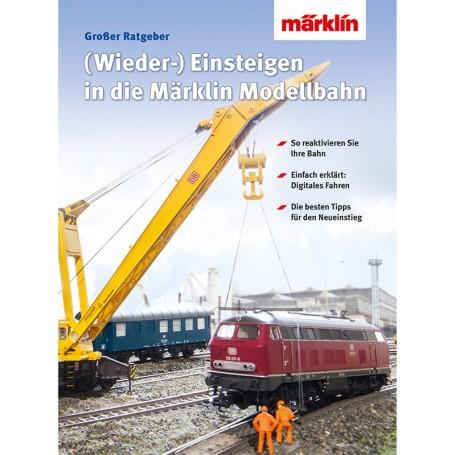 """Märklin 03070 Bok """"Returning/Changing Over to Digital Model Railroading"""", tyska"""