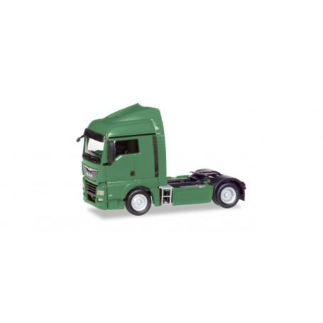 Herpa 308359 MAN TGX XLX Euro 6c rigid tractor, reseda green