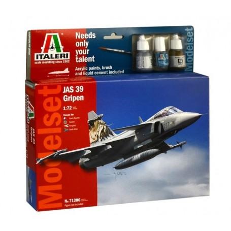 """Italeri 71306 Flygplan JAS 39 Gripen """"Gift Set"""""""
