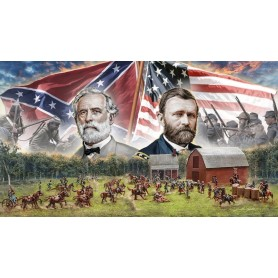 Italeri 6179 Battleset Farmhouse American Civil War 1864