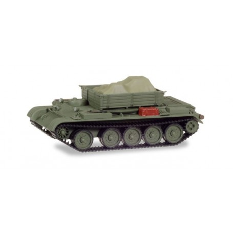 Herpa 745901 Werkstattpanzer T-54 with load under the canvas