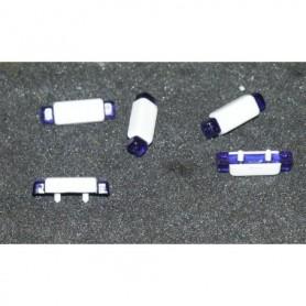 Tåg & Hobby 99502 Blåljusbalkar, 5-pack