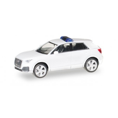 Herpa 013161 Herpa MiniKit: Audi Q2, white / unprinted