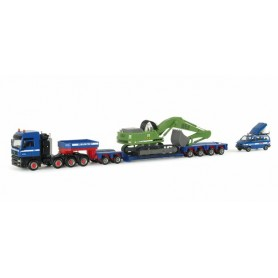 "Herpa 151818 Low boy set ""Westfracht/BUL Sachsen"""